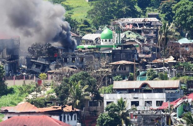 The seizure of the Mindanao town of Marawi in 2017, and its destruction in fighting and bombing, was one of the most serious jihadist 'successes' in the south of the Philippines. (AFP file photo)