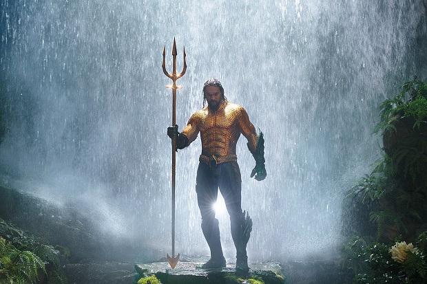 Aquaman dives in