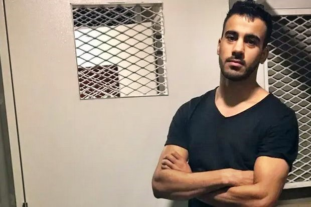 Hakeem Ali Mohamed Ali al-Araibi, detained Nov 27 at Suvarnabhumi airport at the request of the Bahrain government, gets a day in court on Tuesday. (Photo provided)