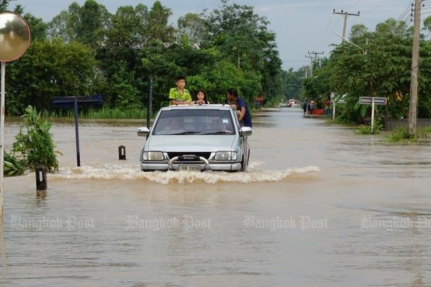 Heavy rain is forecast in and around Nakhon Si Thammarat, with the Meteorological Department warning of possible flash floods. (Post Today photo)