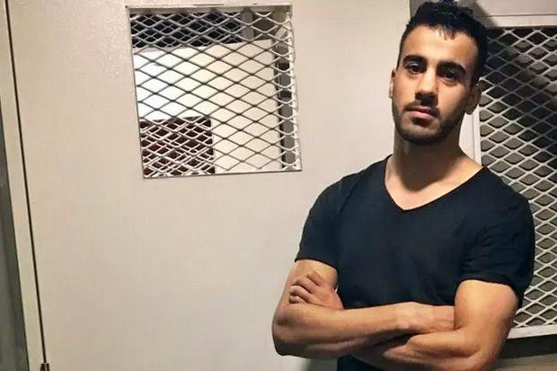 Hakeem Ali AlAraibi, detained on Nov 27 at Suvarnabhumi airport at the request of the Bahrain government. The Criminal Court on Tuesday approved a request for his detention for another 60 days, pending an extradition hearing in court. (Photo provided)