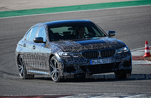 BMW M340i xDrive prototype 2019 first drive review