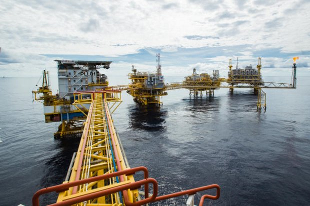 The Erawan natural gas field operated by Chevron Thailand Exploration and Production (above) will be handed over to PTTEP in 2022 under the Mineral Fuels Department's supervision. (Photo courtesy of Chevron)