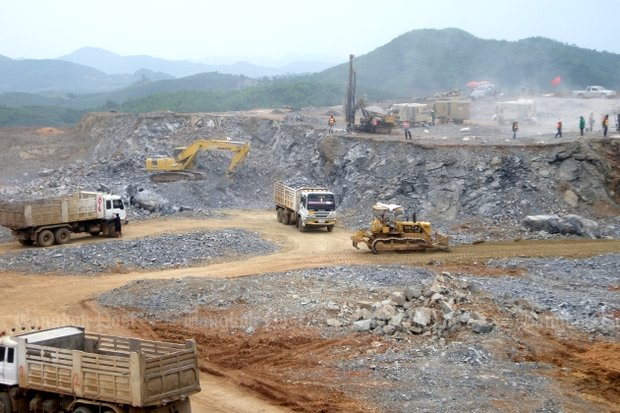 Villagers claimed that years of operation of the Tungkum mine affected both their health and economy. (File photo)