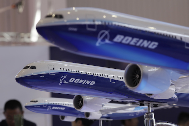 Boeing delivers first 'finished in China' plane