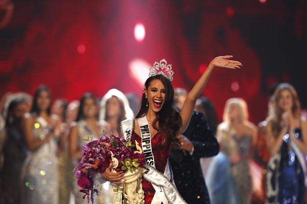 d8da8db4edc2 Philippines contestant Catriona Gray named Miss Universe | Bangkok Post:  lifestyle