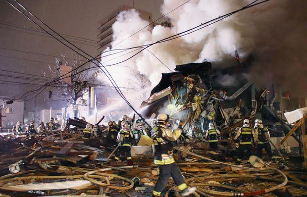 Sapporo Japan restaurant explosion: At least 40 injured in massive blast