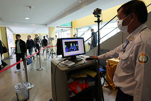 Airports in Phnom Penh, Siem Reap and Sihanoukville expect to handle 10 million passengers this year. (Khmer Times photo)