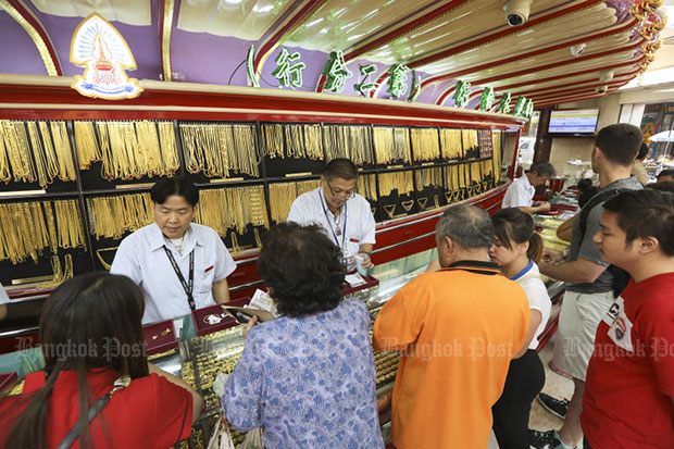 Gold prices up B50 to B19,750