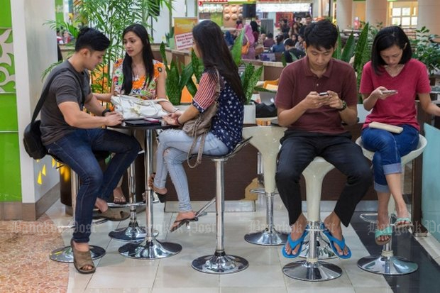 Millennials will have to get off their seats and go to the polls in India, Indonesia and Thailand - and political parties are responsible for getting them there. (File photo)