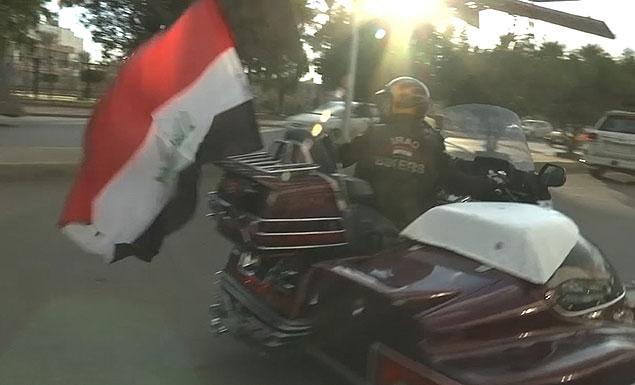 Meet the bikers aiming to unite Iraq