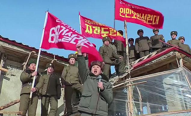 The 'slave labour' behind Kim Jong Un's new utopia