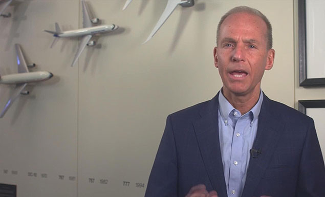'Lives depend' on plane safety: Boeing CEO