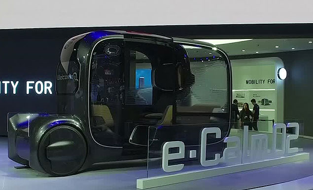 Designs of the future at the Shanghai Auto Show