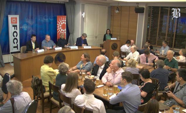 Panellists paint grim picture of post-election future