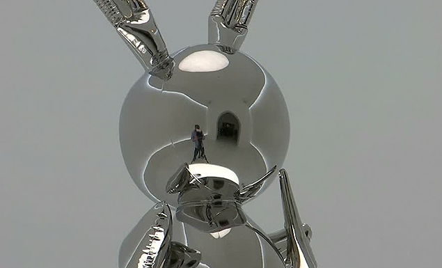 Jeff Koons' shiny 'Rabbit' sells for world record