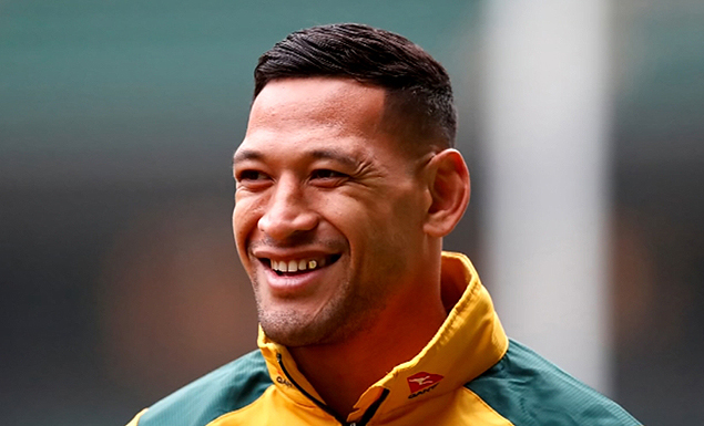 Folau axed by Rugby Australia over Instagram post