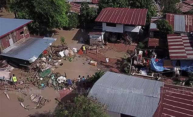 Khon Kaen flooding subsides