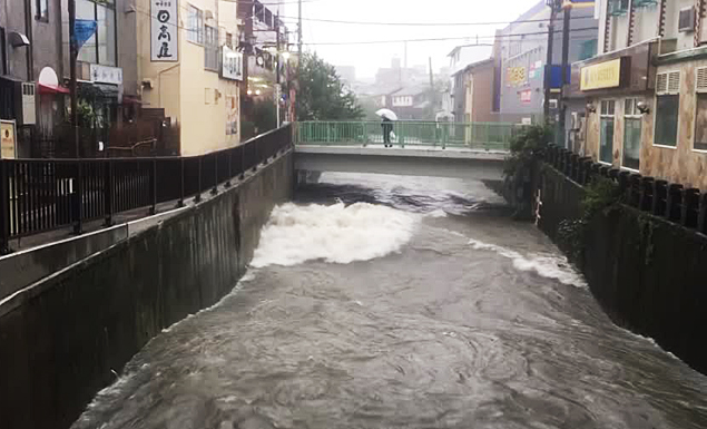 At least one dead as Typhoon Hagibis hits Tokyo