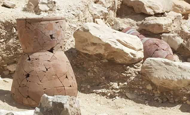 Egypt discovers ancient factories