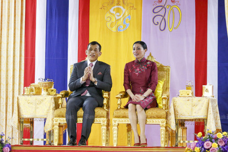 King and Queen in Yaowarat -1