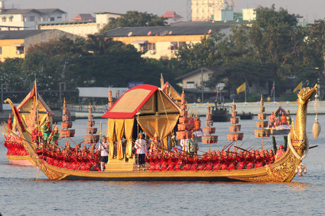 Royal barge procession -0