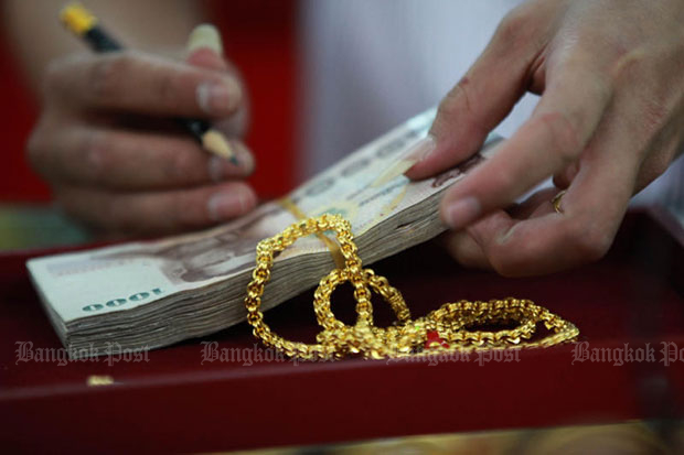 Gold prices down B100 to B19,550