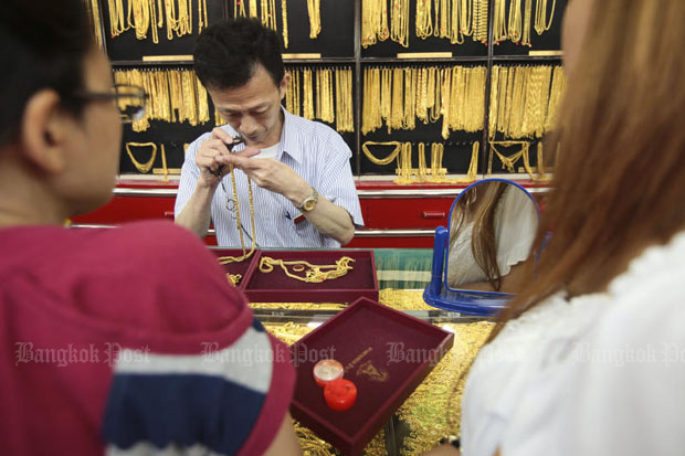 Gold prices steady at B19,500