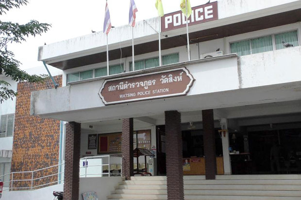 Police handling a rape case against a physical education teacher at a schoolin Wat Sing district, Chai Nat say health checkup results found there were traces of rape on a 12-year-old schoolgirl. (Photo by Chudate Seehawong)