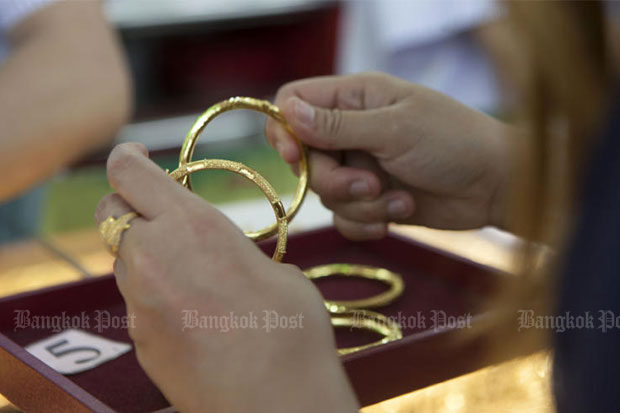 Gold prices down B50 to  B19,550