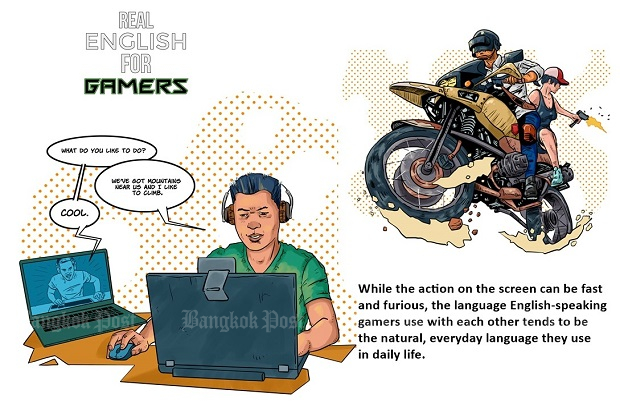 Introducing Real English for Gamers