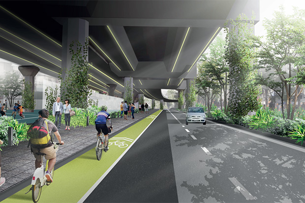 Expressway hideaways a chance for urban renewal