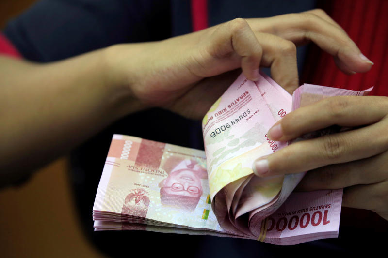The rupiah is up 2.4% against the US dollar this year and it tops in the region. (Reuters photo)