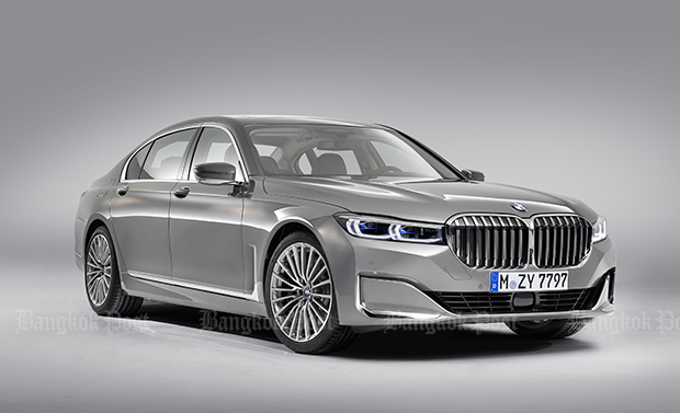 BMW gives facelifted 7 Series a big nose