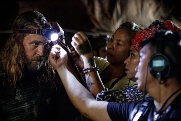 First cave rescue film due in July