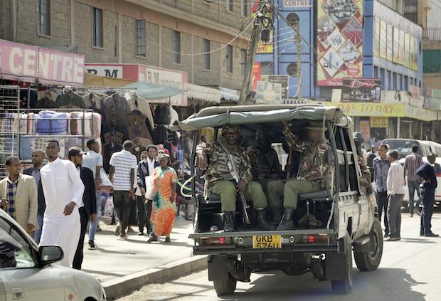 Nine held in Nairobi hotel attack