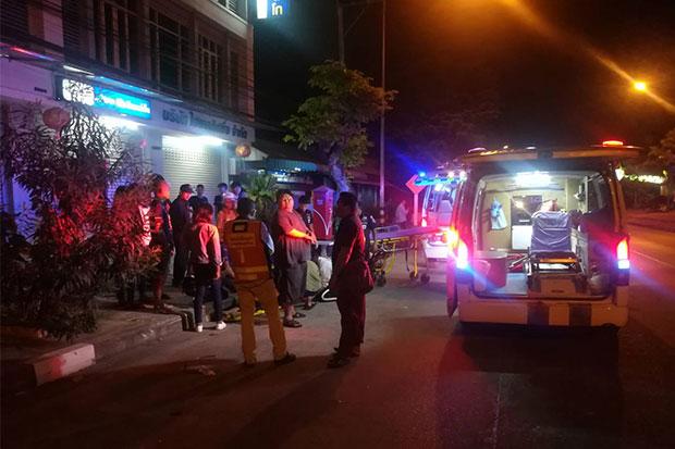 Nine hurt as pickup rams 10 vehicles in Buri Ram