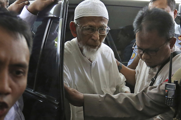 Cleric linked to Bali bombings 'won't renounce radicalism'