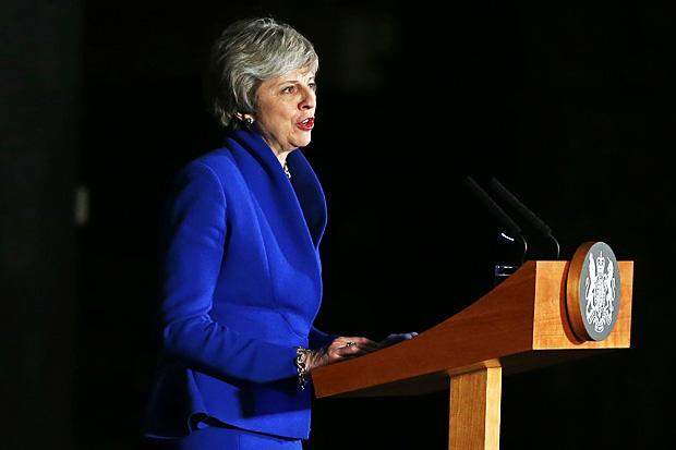 British PM turns to Brexit 'B'