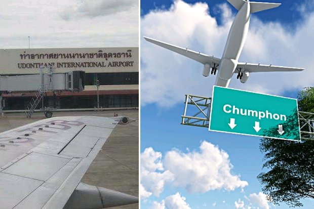 The Department of Civil Aviation is out and Airports of Thailand is in, in a management shake-up at four supposedly dismal up-country airports. (File photos)