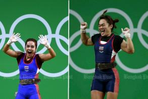 Thai lifters banned from Olympics over doping