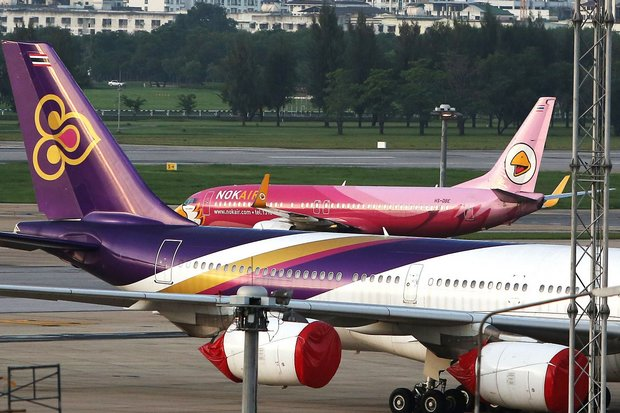 Relations between Nok Air and 'big brother' Thai Airways International never have been great, but now they are shakier than ever. (Photo Business Times, Singapore)