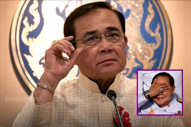 Prime Minister Prayut Chan-o-cha on Thursday said he accepts Thailand's corruption ranking but believes the foreign-generated index was influenced by a 'perception' his regime is undemocratic. (Main photo by Post Today)