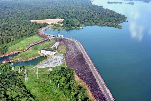 Sirindhorn Dam (Khuean Dom Noi to locals) in the northeaster province of Ubon Ratchathani has been picked as the inaugural site for a dam-based set of floating solar arrays to make power for the national grid. (Photo courtesy Egat)