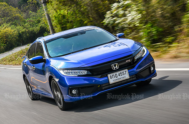 Honda Civic facelift (2019) review