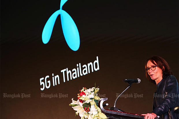 DTAC chief executive officer Alexandra Reich expects years of fierce price-cutting to moderate. (Post Today photo)
