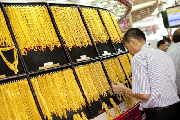Gold prices steady at B19,550