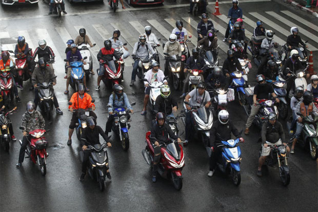 Motorcycles key to solving road deaths