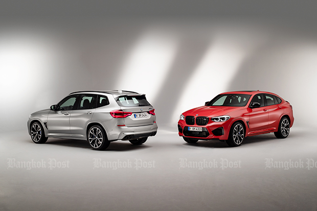 BMW reveals M models for X3 and X4