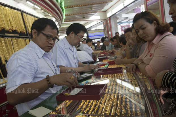 Gold prices up B50 to B19,500